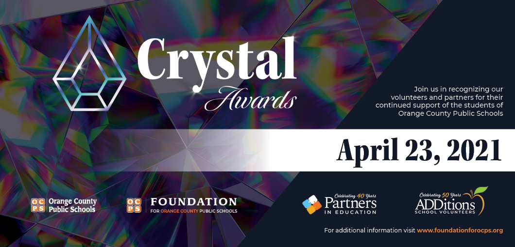 Crystal Awards invite