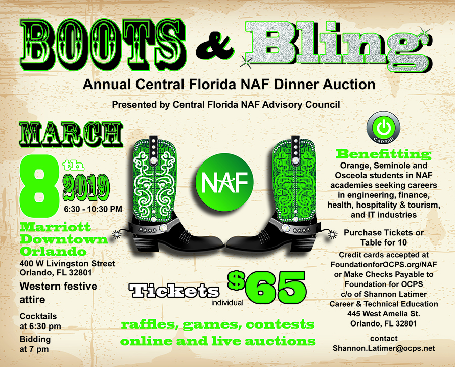 The Foundation for OCPS , Central FL NAF Academies