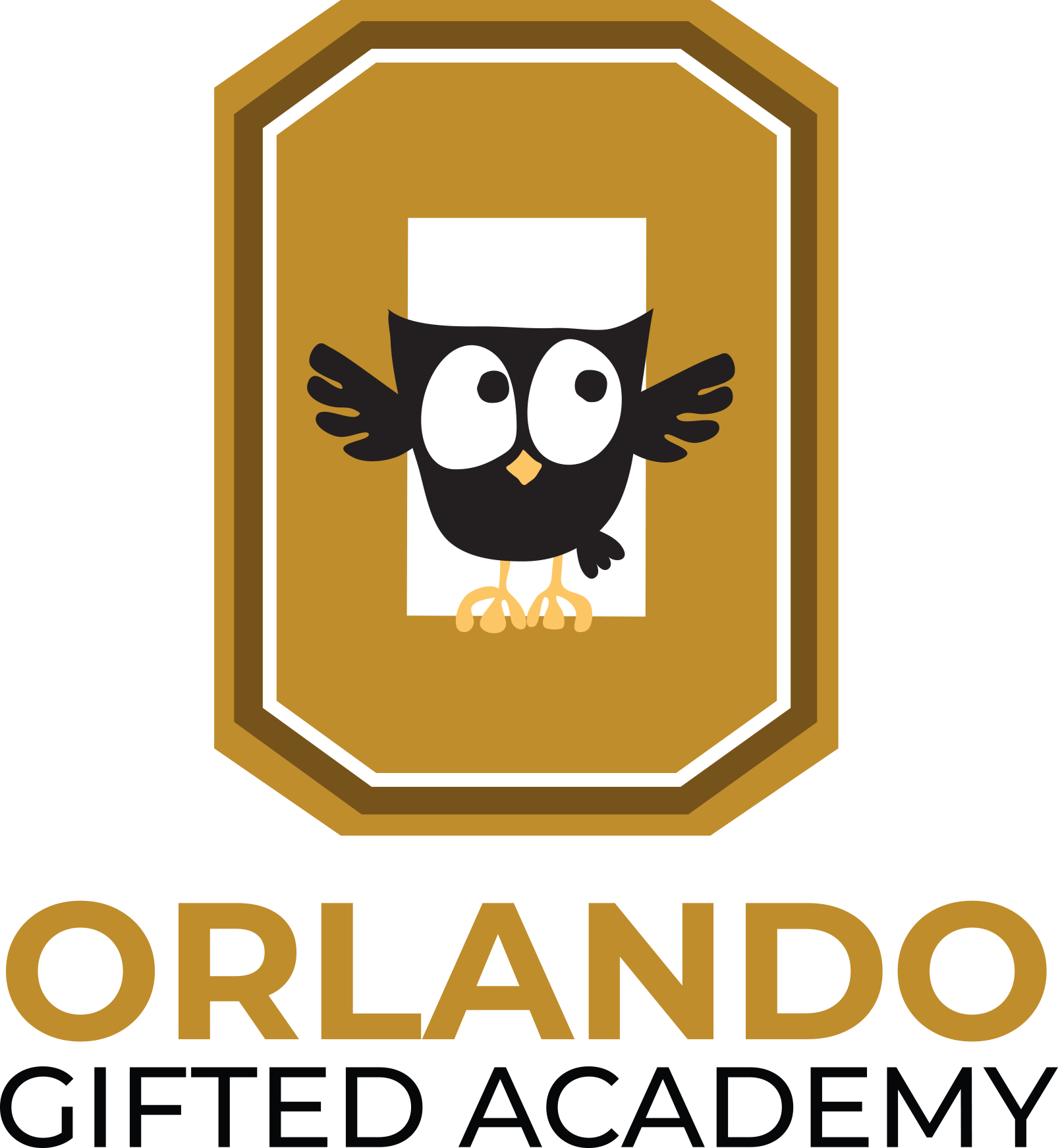 Orlando Gifted Academy Advancement Fund Logo - owl